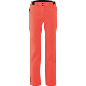 Maier Sports Coral Pants Women, fiery coral